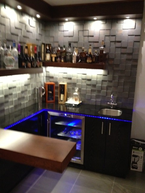 Cool design for Small Bar - Contemporary - Wine Cellar - Los Angeles - by BAUFORMAT