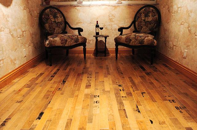 Cooperage Wine Barrel Wood Floor Traditional Wine