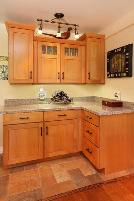 Craftsman Styles Kitchens and Baths craftsman-wine-cellar