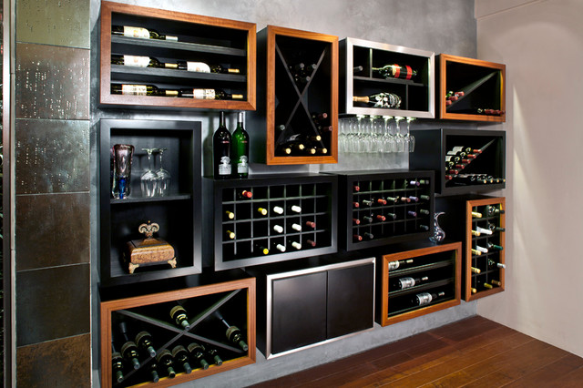 Modern Wine Cellar Orlando CRu Custom Wine Cellars - Custom Projects modern-wine-cellar