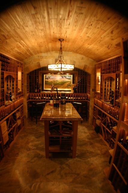 Culbreath Isles traditional-wine-cellar