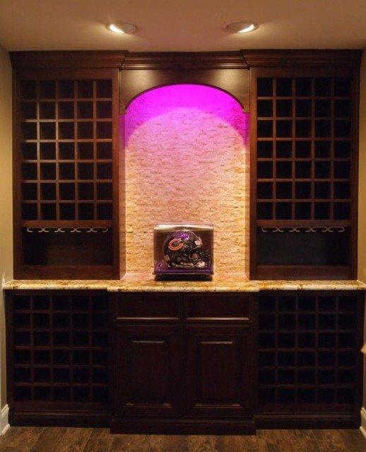 Custom Cabinetry Projects contemporary-wine-cellar
