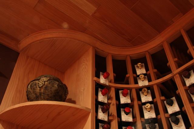 Custom Cellar 2 traditional-wine-cellar