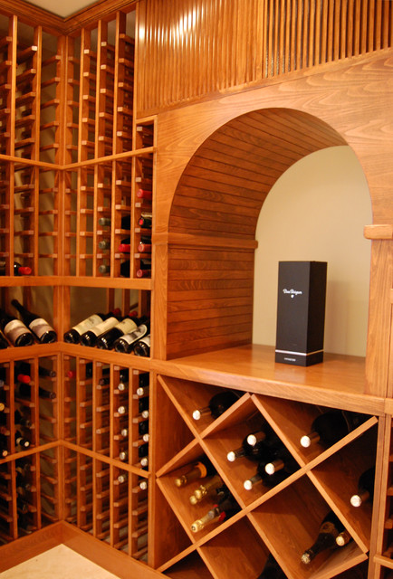 Custom Concord Residential Wine Cellar - Traditional - Wine Cellar - Other - by Wine Hardware of ...