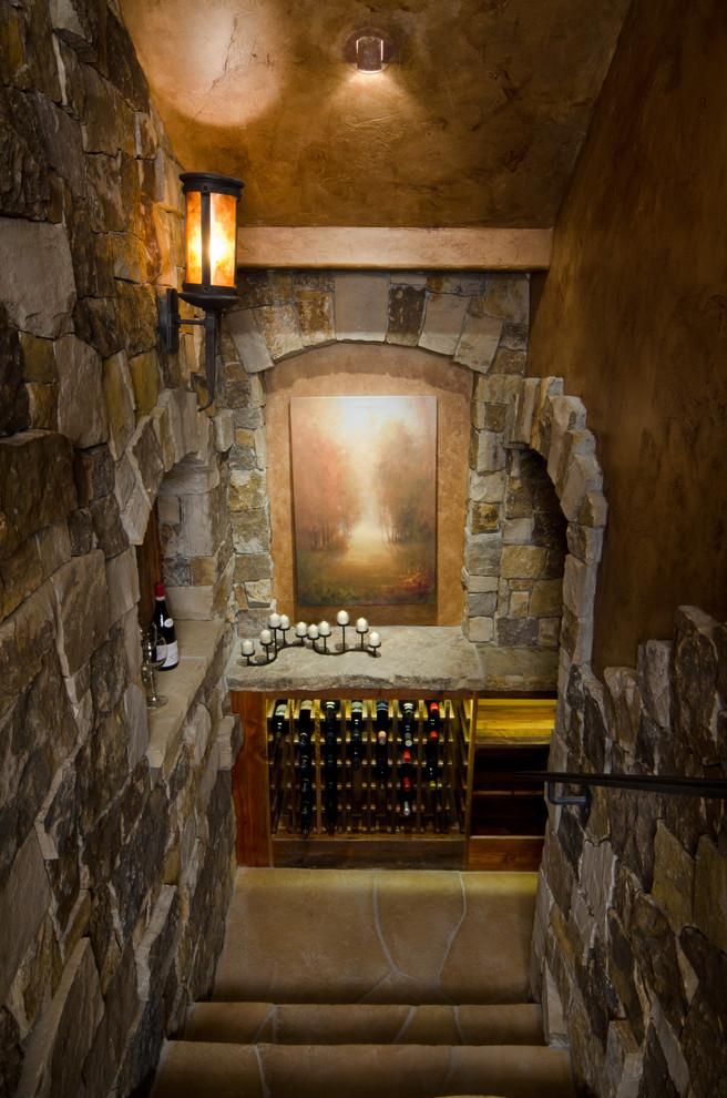 Custom Lodge Home In Caldera Springs Rustic Wine