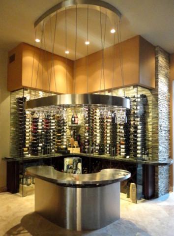 Custom wine bar palm desert for Custom wine bar