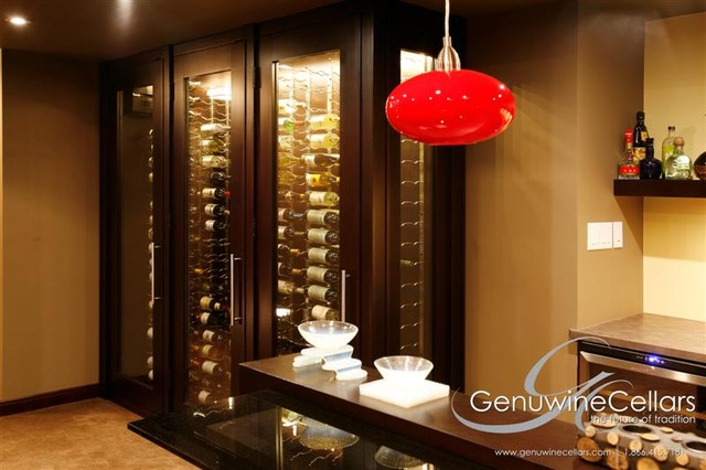 Architectural Series - Custom Wine Cabinets  wine cellar