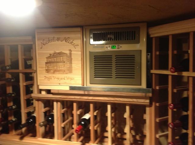 Custom Wine Cellar Air Conditioning Installation