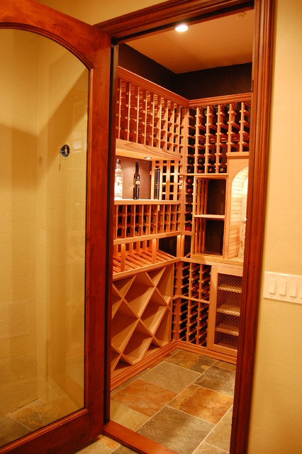 Custom Wine Cellar traditional wine cellar