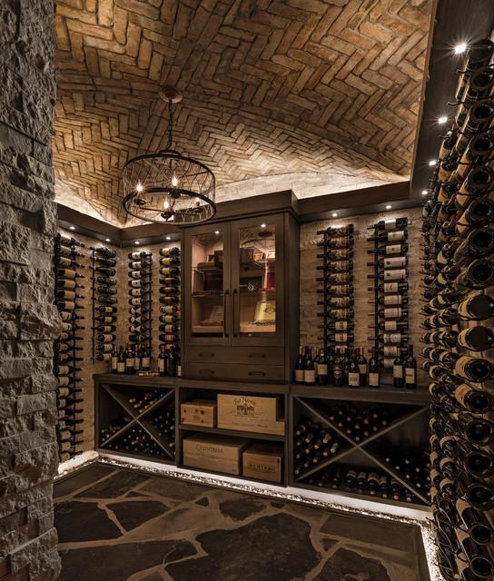 Custom Wine Cellars Clique Chic