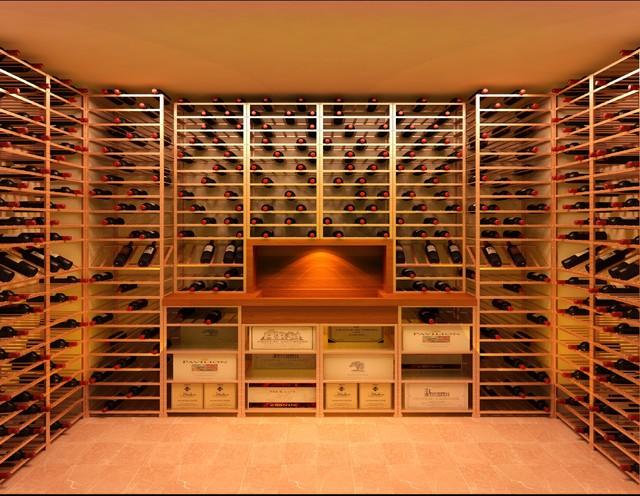 Custom Wine Cellars Traditional Wine Cellar Surrey