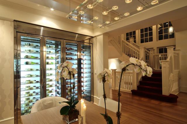 custom wine fridge vin de garde. Black Bedroom Furniture Sets. Home Design Ideas