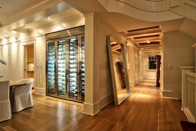 custom wine fridge vin de garde modern wine cellar new york by vin de garde modern wine. Black Bedroom Furniture Sets. Home Design Ideas
