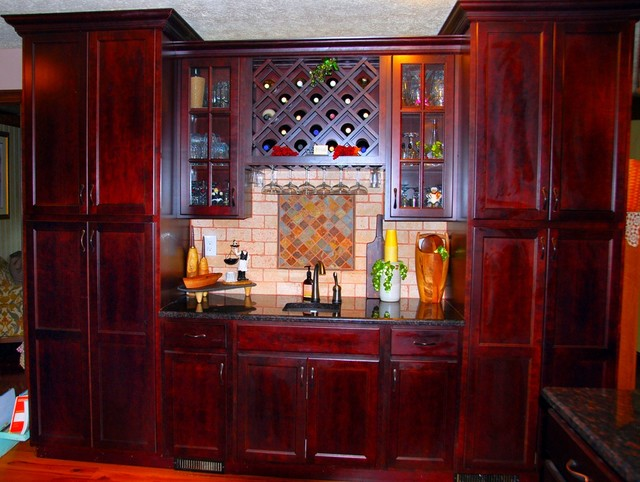 Custom Wine Rack Ideas For Kitchen Traditional Wine