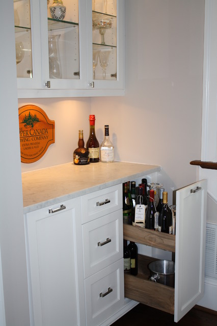 Customized Wet Bar - Eclectic - Wine Cellar - Charlotte - by Hardwood Creations
