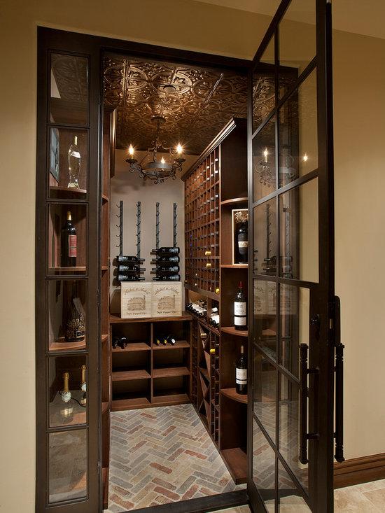 Small wine cellar design ideas pictures remodel decor for Wine room design ideas