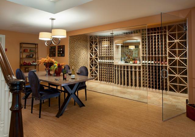 Design Home 2012 Traditional Wine Cellar
