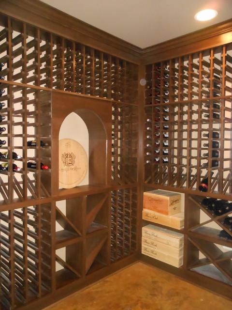 Designing Interiors Maria Hildebrand traditional-wine-cellar