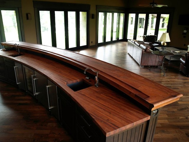DeVos Woodworking Mesquite Bar Top In Texas