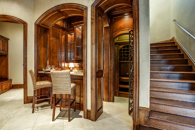 Dream Home Rooms traditional-wine-cellar