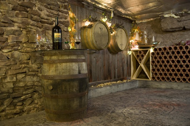 Duane Beckett contemporary wine cellar