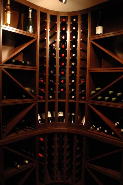 Elbow Valley Wine Room craftsman-wine-cellar