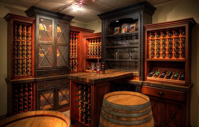 Elmwood Showroom Wine Room