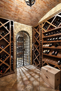 english manor traditional wine cellar houston by jauregui architect builder. Black Bedroom Furniture Sets. Home Design Ideas