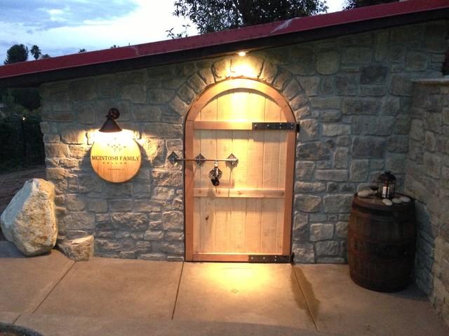 Escondido - The Good Life Outdoor traditional-wine-cellar & Escondido - The Good Life Outdoor - Traditional - Wine Cellar - San ...