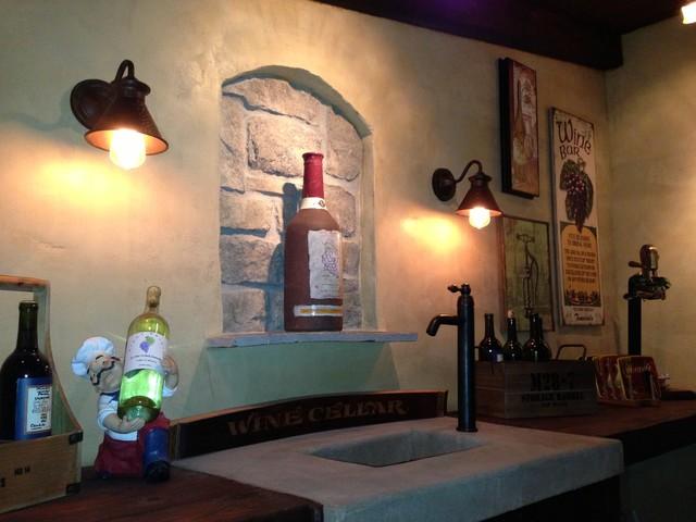 Escondido - The Good Life Outdoor traditional-wine-cellar