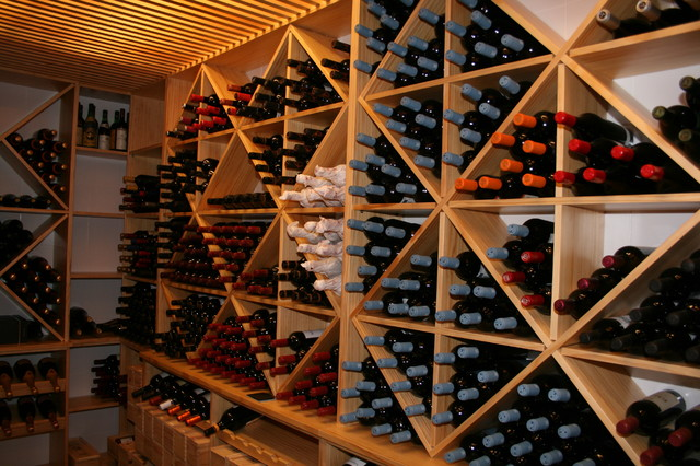 Estanterias para cava de vinos - Estanterias de vino ...