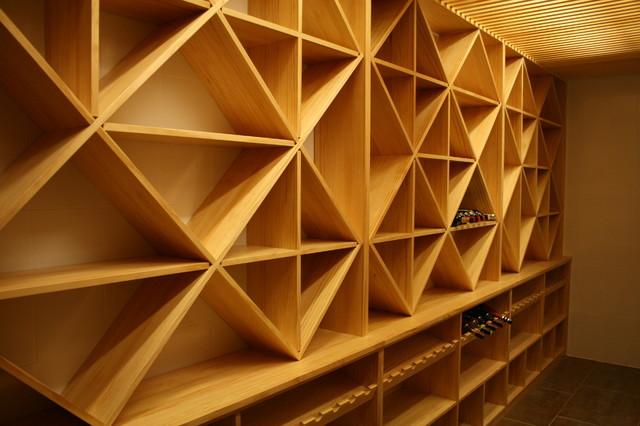 Estantes para vinos best ideas para exhibir los vinos - Estantes para vinos ...