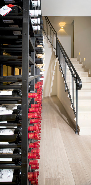 ETHAN CARMEL ARCHITECTS contemporary-wine-cellar