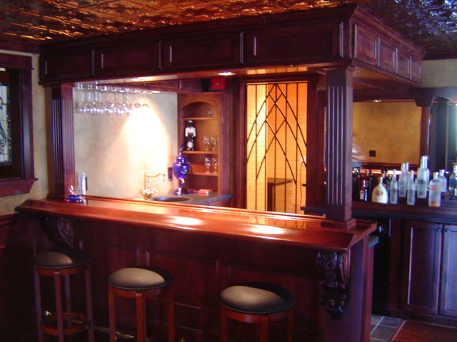 Exceptional Bars eclectic-wine-cellar