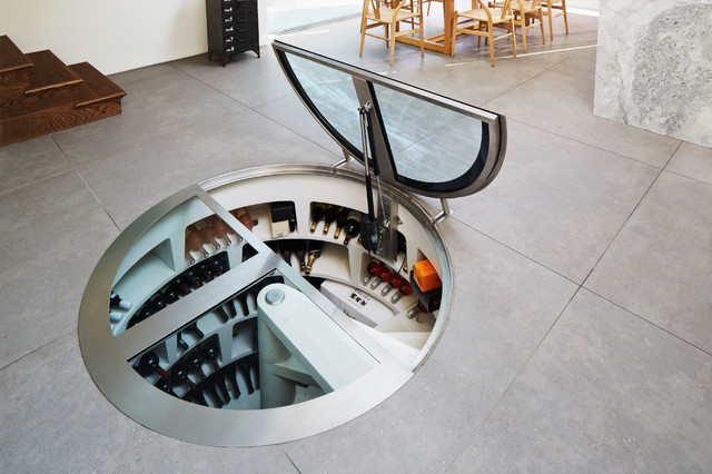 Extension Herne Hill Contemporary Wine Cellar