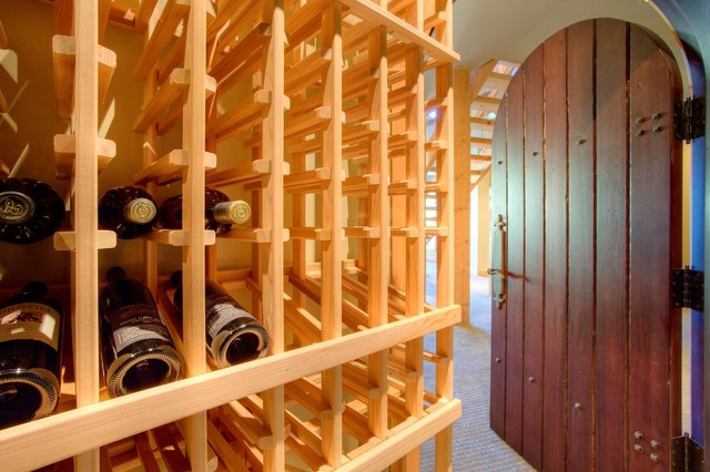 Family Paradise traditional-wine-cellar