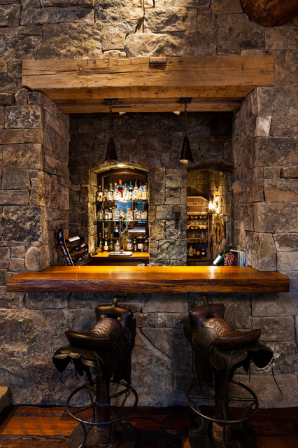 Foxtail Residence Rustic Wine Cellar Denver By