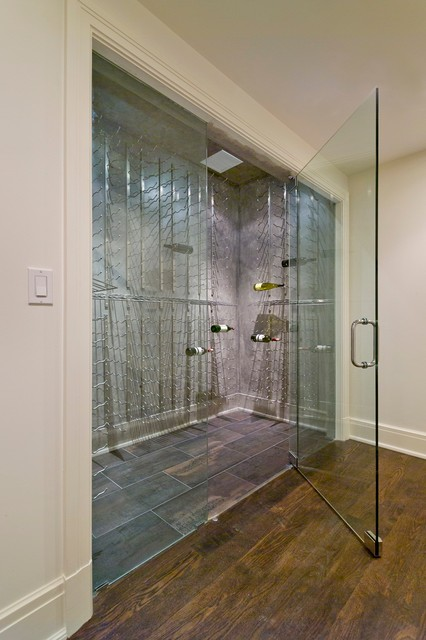 Frameless Wine Room Glass Doors