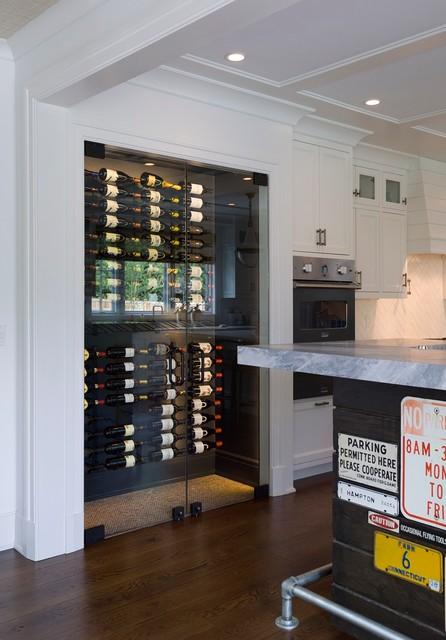 Frameless wine room glass doors frameless wine room glass doors contemporary wine cellar planetlyrics Images