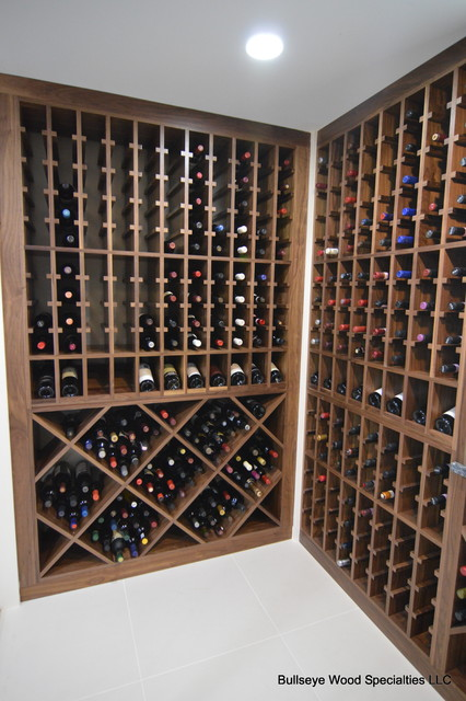 Franklin Avenue Wine Cellar - Modern - Wine Cellar - dc metro - by Bullseye Wood Specialties, L.L.C