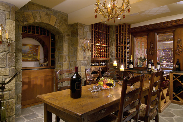 French Wine Cellar Traditional Wine Cellar Other