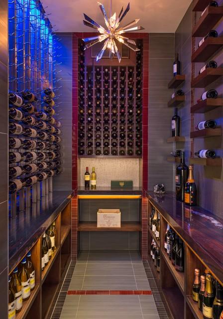 gaywood contemporain cave vin austin par allied stone austin. Black Bedroom Furniture Sets. Home Design Ideas