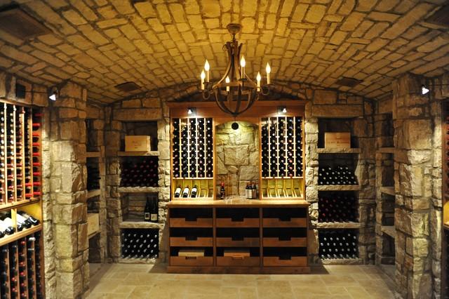 Glass enclosed custom walk in wine cellar in memphis for Walk in wine cellars