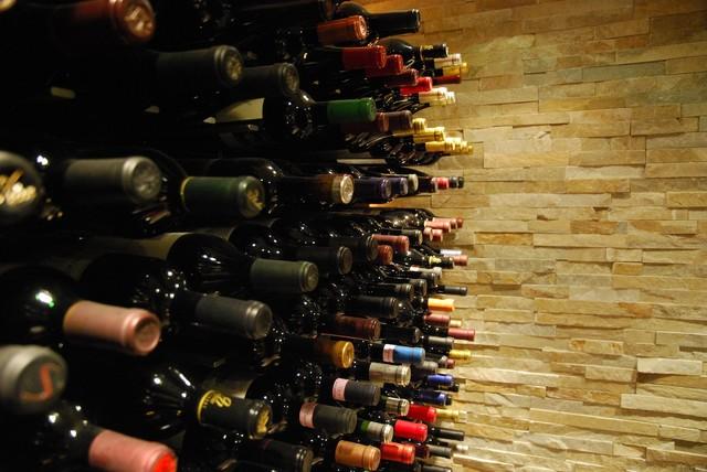 Glass Wine Cellar - Laguna Niguel, California - Contemporary - Wine Cellar - los angeles - by ...