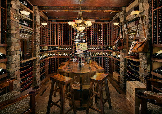 Golf Project rustic-wine-cellar