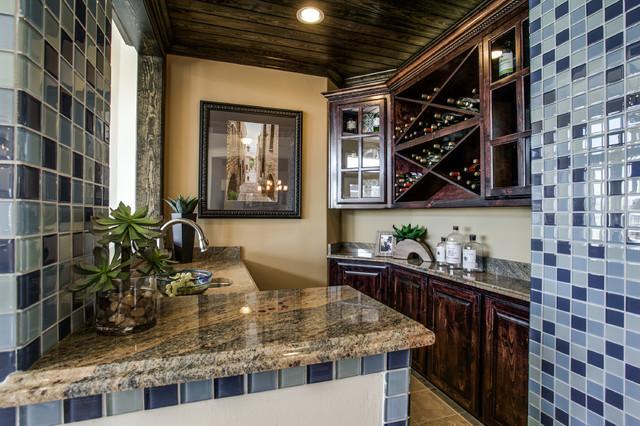 Grand homes mediterranean wine cellar dallas by je for Grand home designs inc