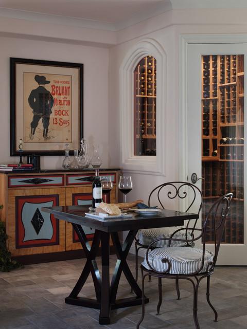 Granity Bay Splendor Contemporary Wine Cellar