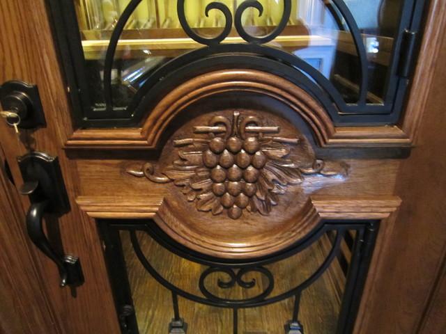 Grapevine Wine Cellar Door Design Texas traditional-wine-cellar