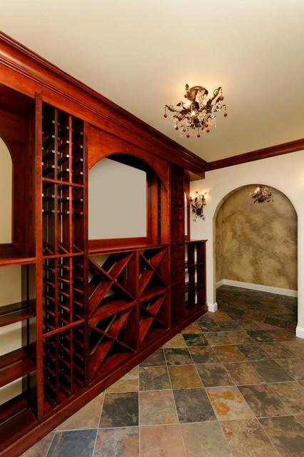 Great Falls Custom traditional-wine-cellar