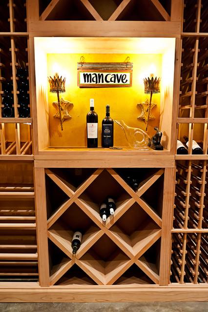 Guest Suite Over Garage Eclectic Wine Cellar Atlanta